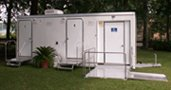 Eight-Stall Shower Trailer Exterior